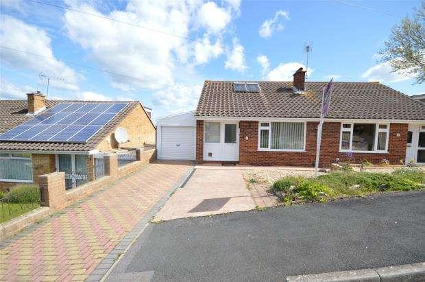 2 Bedrooms Semi Detached Bungalow for sale in Elgar Close, Exeter, Devon