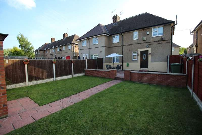 3 Bedrooms Semi Detached House for sale in Birdholme Crescent, Chesterfield, S40