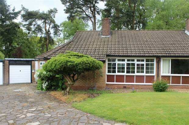 3 Bedrooms Semi Detached Bungalow for sale in Birch Rise, Ashley Heath, Market Drayton, Staffordshire