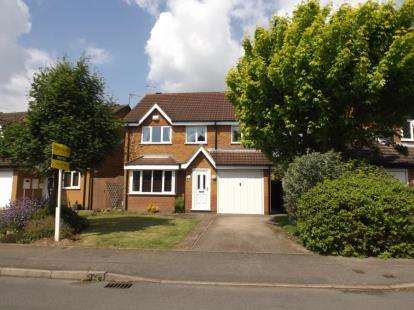 4 Bedrooms Detached House for sale in Emperor Way, Whetstone, Leicester, Leicestershire