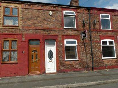2 Bedrooms Terraced House for sale in Clegge Street, Warrington, Cheshire, WA2