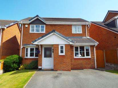 3 Bedrooms Detached House for sale in Broughton Heights, Pentre Broughton, Wrexham, Wrecsam, LL11