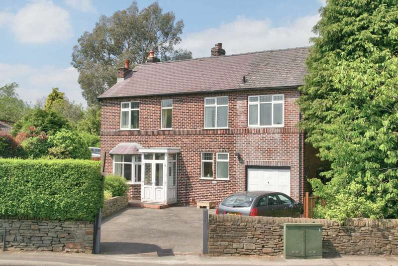 4 Bedrooms Detached House for sale in Henshall Road, Bollington