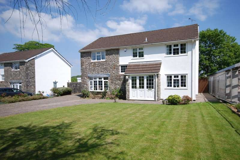 4 Bedrooms Detached House for sale in Ger Y Llan, St Nicholas, Vale of Glamorgan, CF5 6SY
