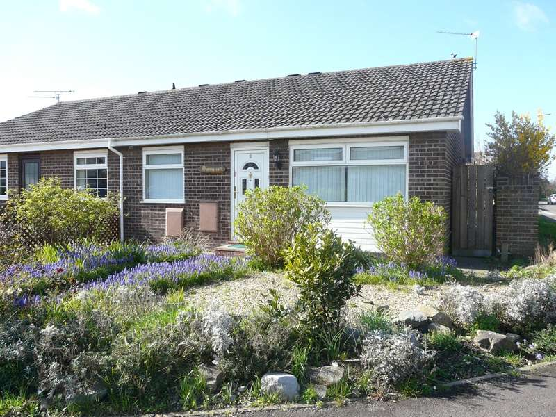 2 Bedrooms Semi Detached Bungalow for sale in Blackberry Drive, Worle, Weston-super-Mare