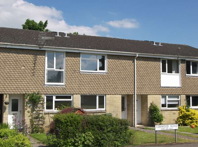 2 Bedrooms Terraced House for sale in Ashwood Road, Rudloe, Corsham
