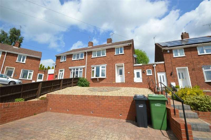 3 Bedrooms Semi Detached House for sale in Sandfield Grove, Gornal, Dudley, West Midlands