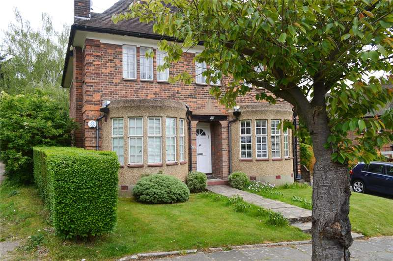 3 Bedrooms Maisonette Flat for sale in Gurney Drive, Hampsted Garden Suburb, London, N2
