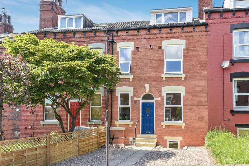4 Bedrooms Terraced House for sale in Haddon Place, Leeds, West Yorkshire, LS4 2JU