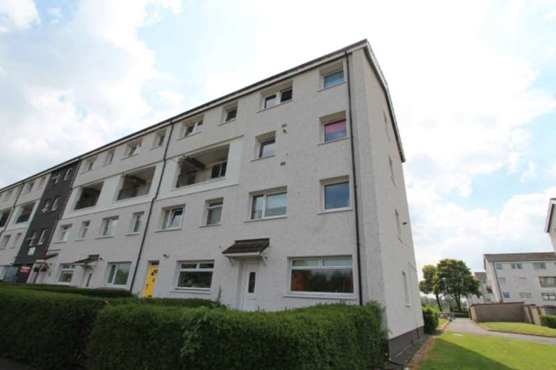 3 Bedrooms Maisonette Flat for sale in Ettrick Terrace, Corseford, Johnstone