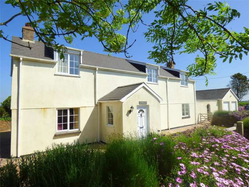 4 Bedrooms Detached House for sale in Rose Hill, Goonhavern