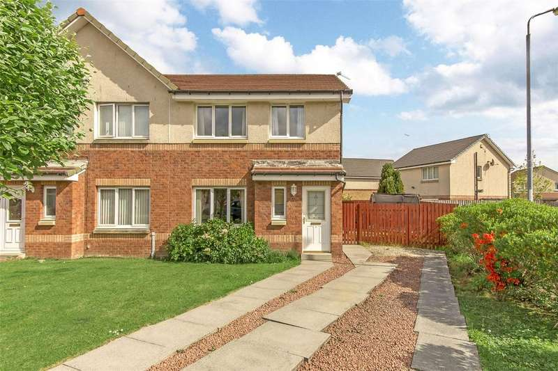 3 Bedrooms Semi Detached House for sale in 8 Levern Bridge Place, The Hurlet, Glasgow, G53