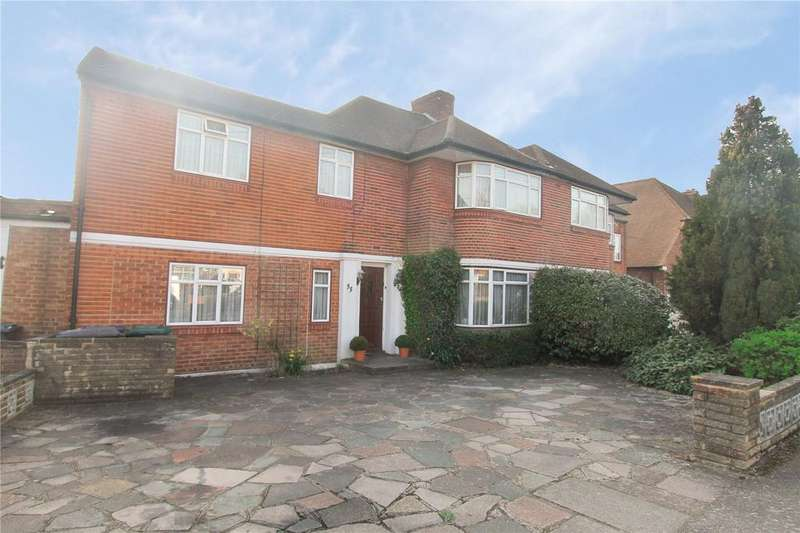 4 Bedrooms Semi Detached House for sale in Wolmer Gardens, Edgware, HA8