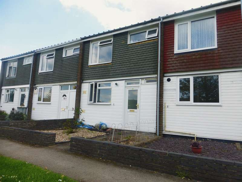 3 Bedrooms Terraced House for sale in Rossendale Walk, Bedford, MK41