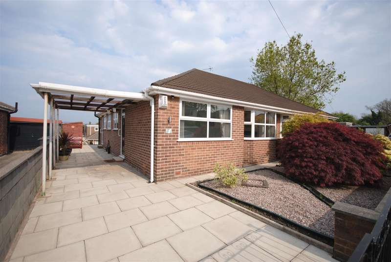 2 Bedrooms Semi Detached Bungalow for sale in Elm Avenue, Standish, Wigan