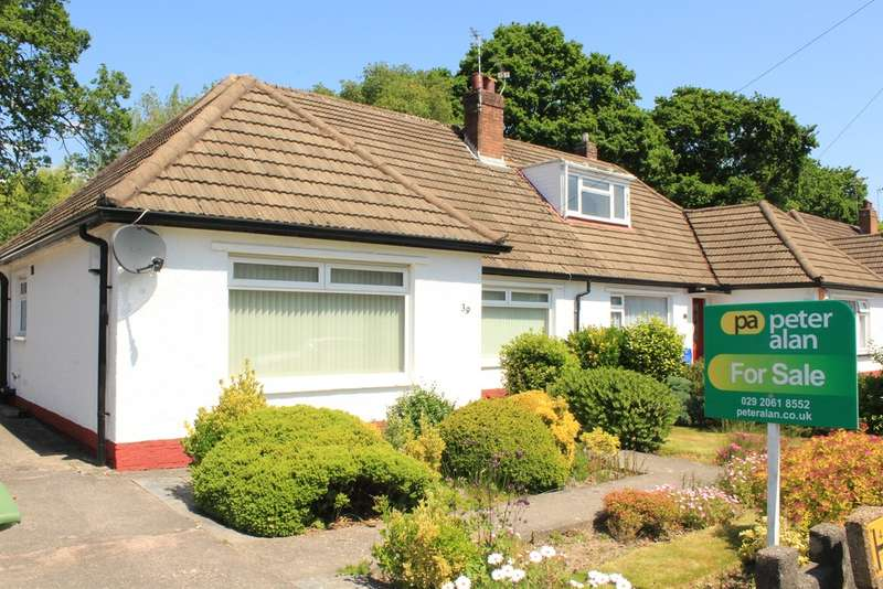 2 Bedrooms Semi Detached Bungalow for sale in Heol Y Bont, Rhiwbina, Cardiff