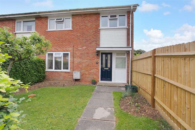 3 Bedrooms End Of Terrace House for sale in Poultons Close, Overton