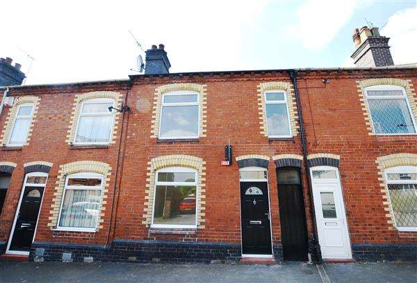 3 Bedrooms Terraced House for sale in Abbey Street, Silverdale, Newcastle-under-Lyme