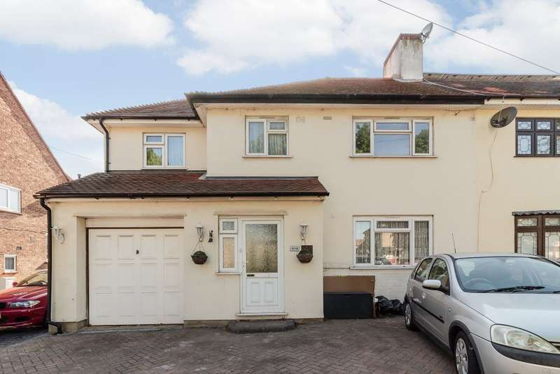 4 Bedrooms Semi Detached House for sale in Coronation Drive,Hornchurch,Essex RM12 5BT