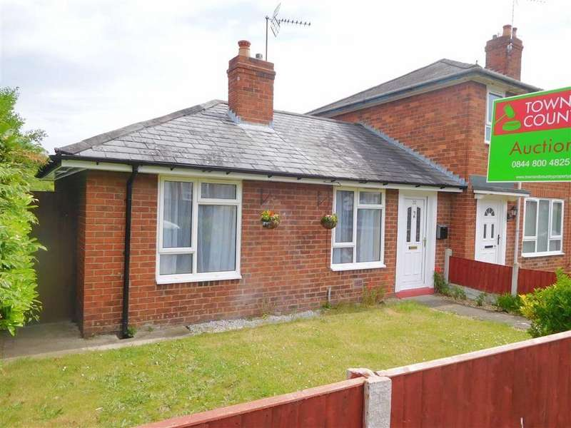 1 Bedroom Semi Detached Bungalow for sale in Cheshire View, Wrexham