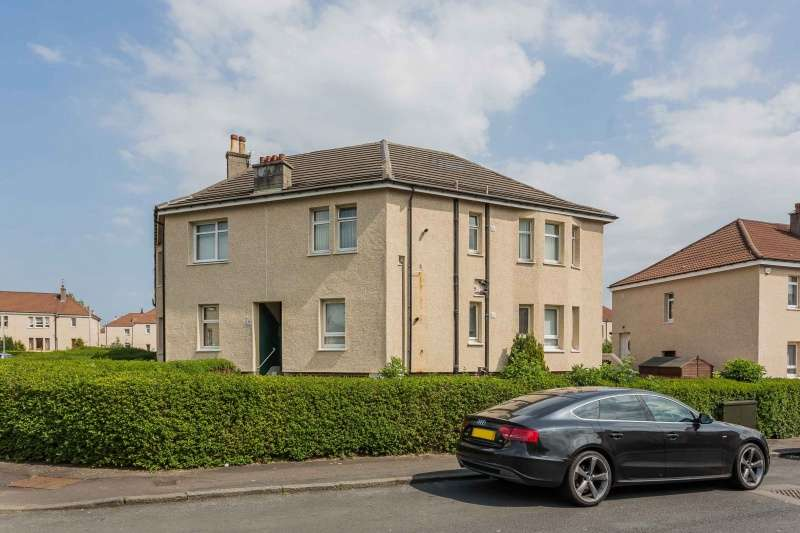 2 Bedrooms Flat for sale in Byres Crescent, Paisley, Renfrewshire, PA3 4RR