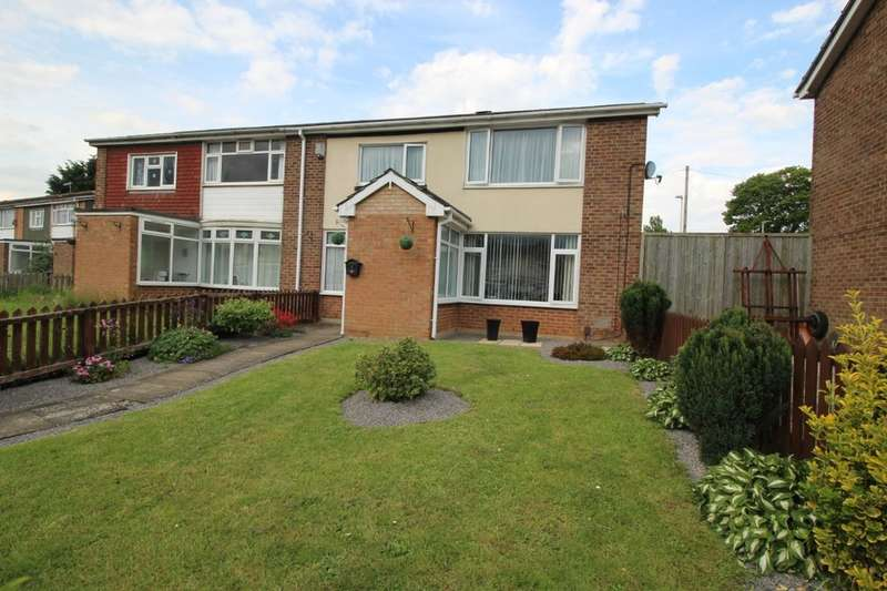 2 Bedrooms Semi Detached House for sale in Malvern Crescent, Darlington, DL3