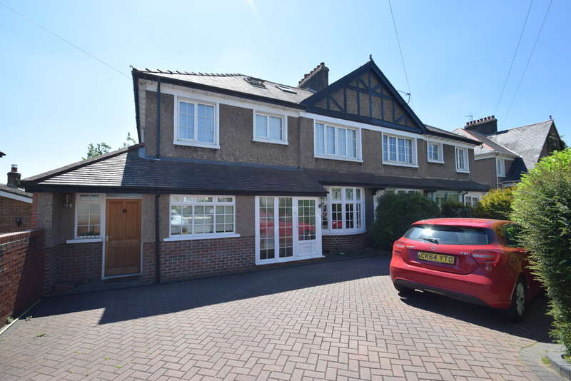 5 Bedrooms Semi Detached House for sale in 137 Park Street, Bridgend, Bridgend County Borough, CF31 4BB.
