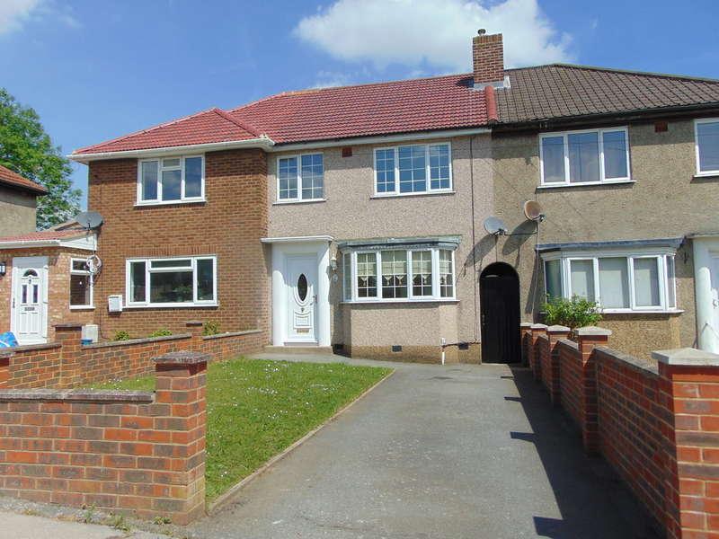 3 Bedrooms Terraced House for sale in Aldrich Crescent, New Addington, Croydon, CR0 0NQ