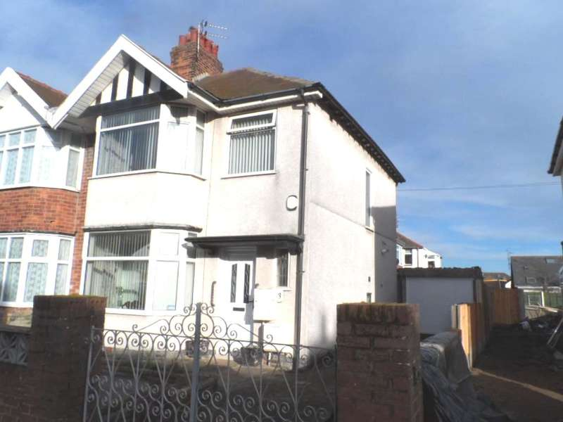 3 Bedrooms Semi Detached House for sale in Lunedale Avenue, Blackpool, FY1 6LL