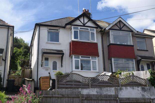 3 Bedrooms Semi Detached House for sale in Blatchcombe Road, Paignton, Devon