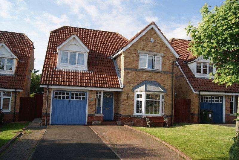 4 Bedrooms Detached House for sale in Linton, Killingworth, Newcastle Upon Tyne