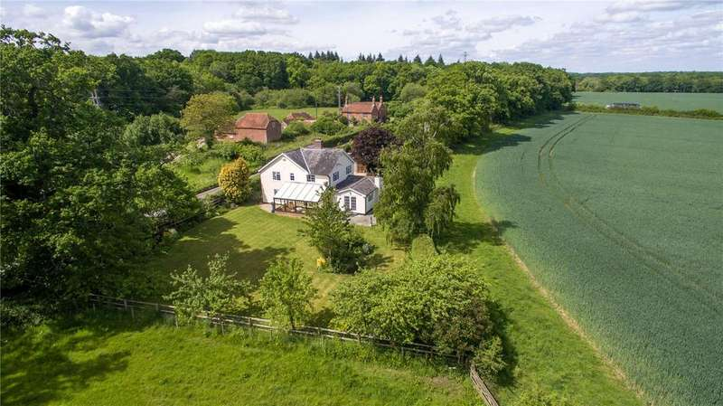 4 Bedrooms Detached House for sale in Spearywell, Mottisfont, Romsey, Hampshire, SO51