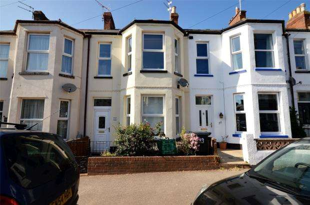 2 Bedrooms Terraced House for sale in Lawn Road, Exmouth, Devon