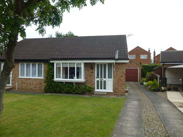 2 Bedrooms Semi Detached Bungalow for sale in Lochrin Place, Acomb