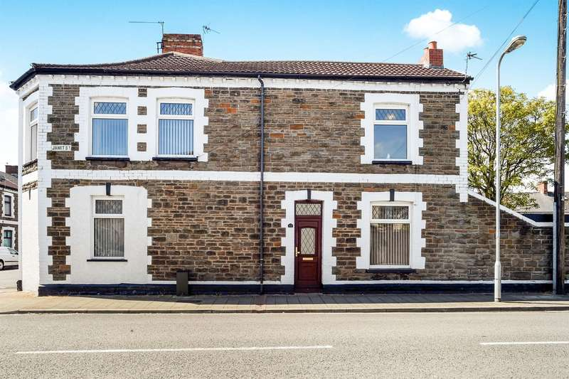 2 Bedrooms End Of Terrace House for sale in Habershon Street, Cardiff