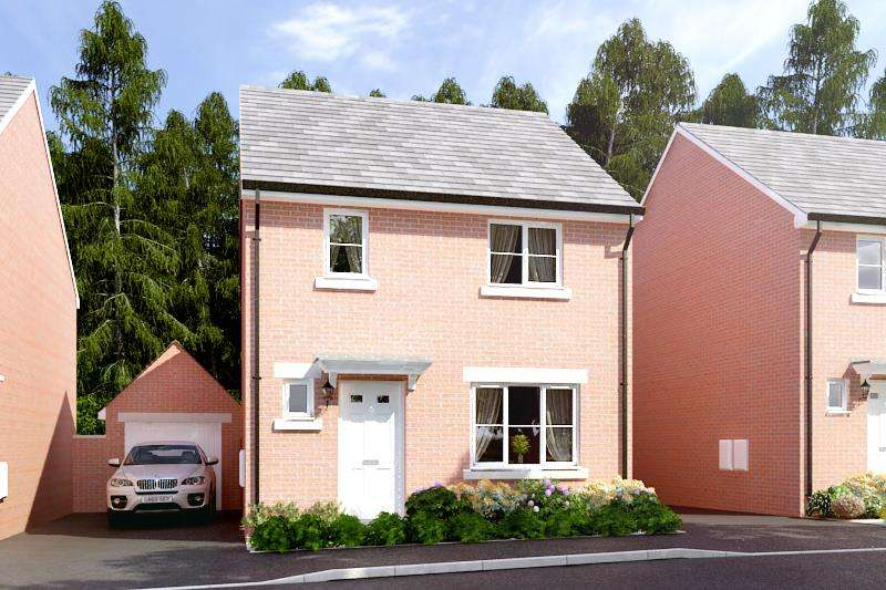 3 Bedrooms House for sale in Lawnspool Drive, Kempsey, Worcester