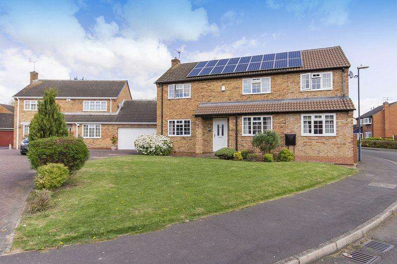4 Bedrooms Detached House for sale in BRADING CLOSE, ALVASTON