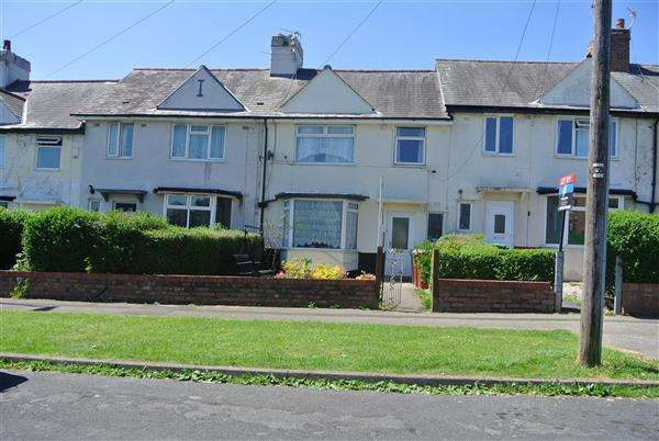 3 Bedrooms Terraced House for sale in Meyler Avenue, Blackpool