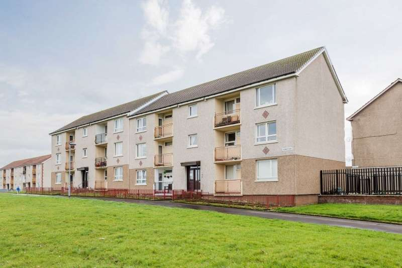 2 Bedrooms Flat for sale in Glenraith Walk, Glasgow, G33 5PB