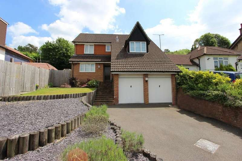 4 Bedrooms Detached House for sale in Lackford Road, Chipstead