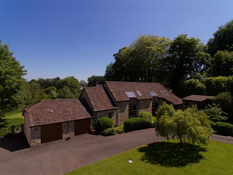 4 Bedrooms Barn Conversion Character Property for sale in Churchinford, Blackdown Hills 0.7 Acre