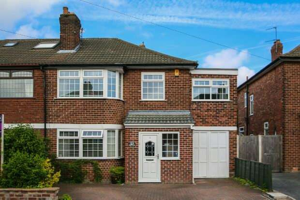 5 Bedrooms Semi Detached House for sale in Glenrise, Timperley