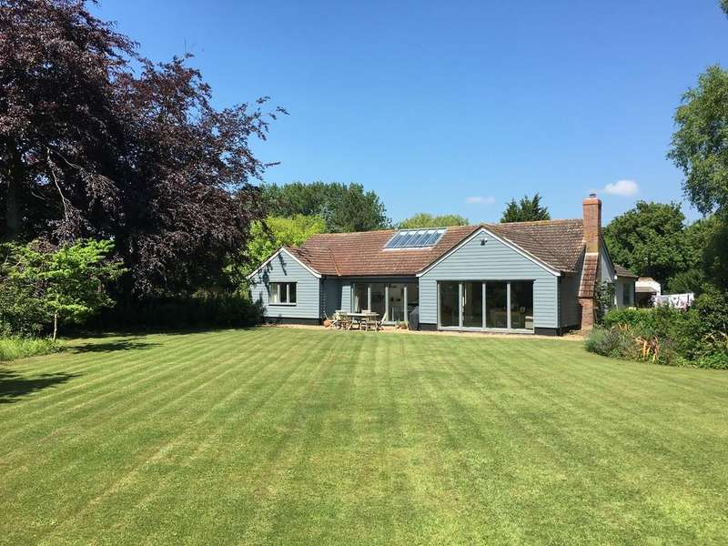 5 Bedrooms Detached House for sale in Saxtead, Nr Framlingham, Suffolk