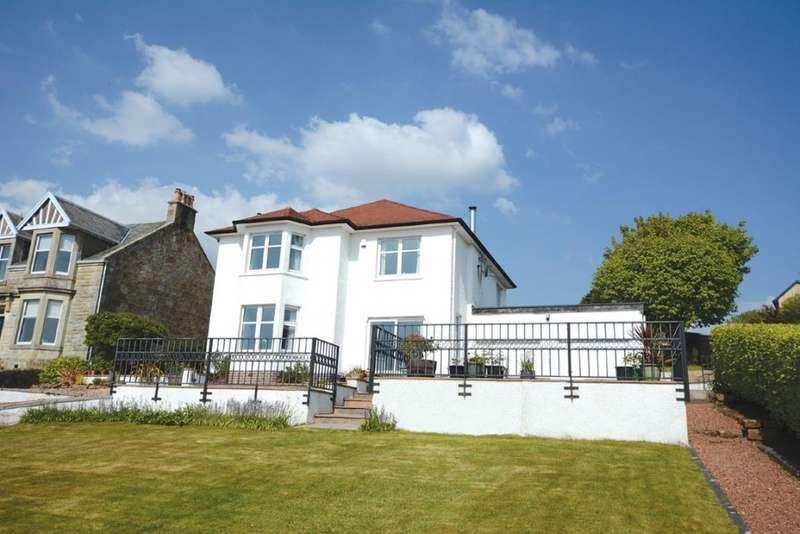 4 Bedrooms Detached Villa House for sale in 18 Caldwell Road, West Kilbride, KA23 9LE
