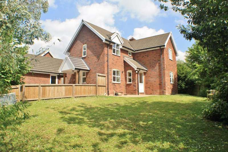 3 Bedrooms Detached House for sale in Grafton Court Close, Grafton, Hereford, HR2