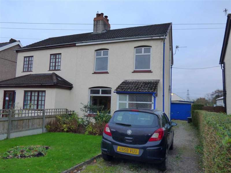 3 Bedrooms Semi Detached House for sale in Mimosa, 6 Caldicot Road, Portskewett, Caldicot