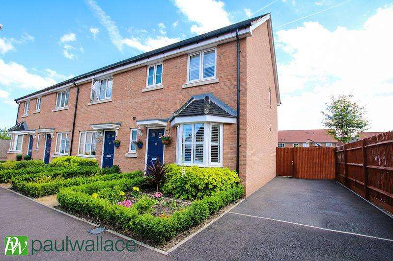 3 Bedrooms End Of Terrace House for sale in Aldermere Avenue, West Cheshunt