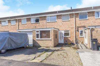 3 Bedrooms Terraced House for sale in Church Drive, Quedgeley, Gloucester, Gloucestershire