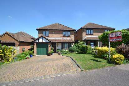 4 Bedrooms Detached House for sale in Ashby Close, Wellingborough, Northamptonshire