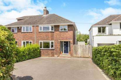 3 Bedrooms Semi Detached House for sale in Harp Hill, Charlton Kings, Cheltenham, Gloucestershire